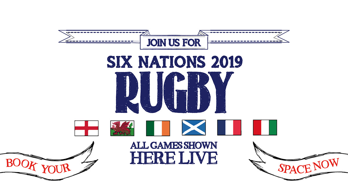 Watch the 6 Nations at The Park View in Brighton
